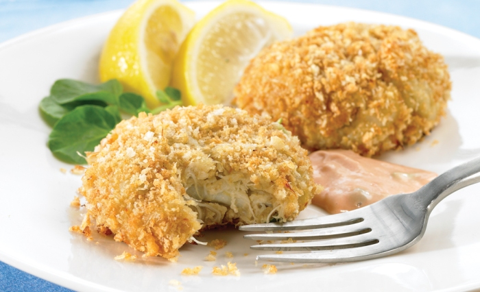 Crab Cakes with Remoulade