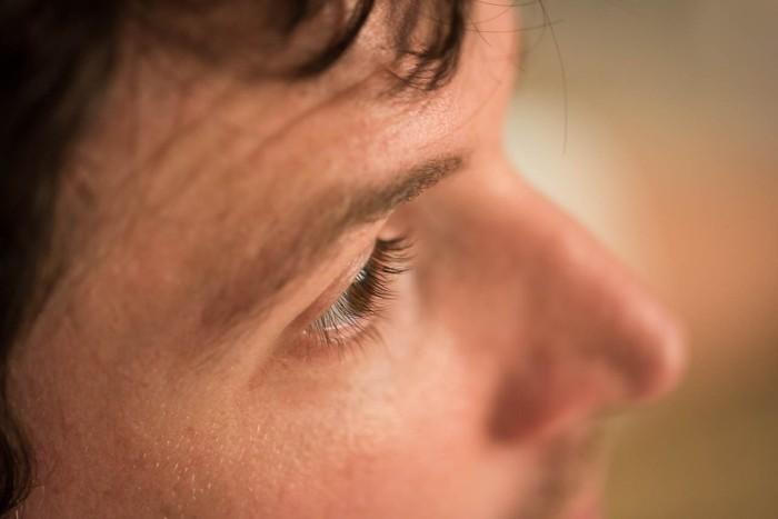 Max's eyelashes